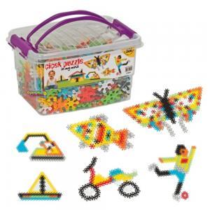 Oyuncak Çiçek Puzzle 500 Parça Özel Kutu