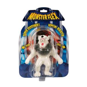 Monsterflex Süper Esnek Figür 15 cm. - Beyaz Kurt Adam