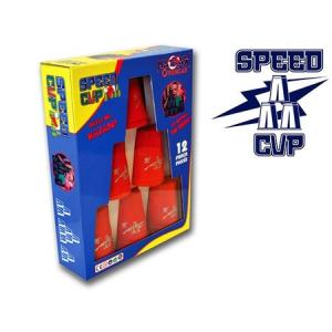 Speed CUP Bardak Oyunu 12 parça Kırmızı