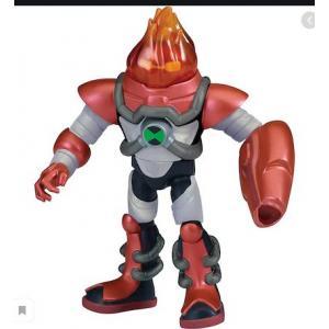 Orijinal Ben 10 Aksiyon Figürleri Omnı-Kıx Armor HeatblastFigür
