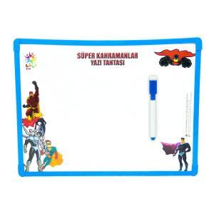 Süper Kahramanlar Yazı Tahtası