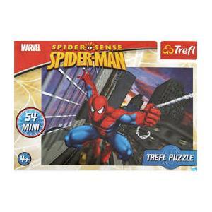 54 Parça Mini Puzzle Örümcek Adam Cep Puzzle