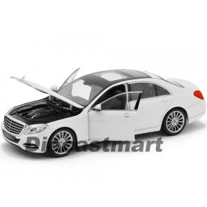 1:24 WELLY 2015 MERCEDES BENZ S CLASS BEYAZ RENK