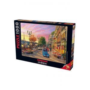 Anatolian Puzzle 1000 Parça Pariste Akşamüstü 1004