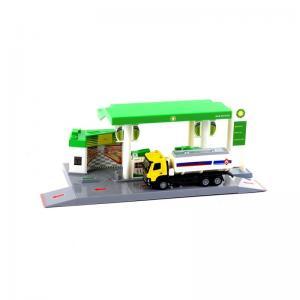 Kutulu Benzinlik İstasyonu Yeşil