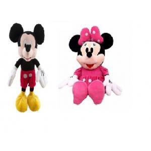 Mickie Mouse + Minnie Mouse İkisi Bir Arada 45 Cm