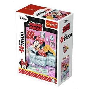20 Parça Mini Puzzle Minnie Mouse Cep Puzzle