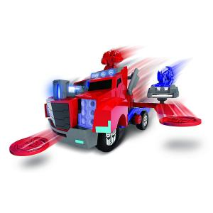 Transformers Optimus Prime Battle Truck Sesli Disk Atan Araç