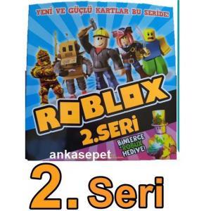 Yeni ROBLOX 2.Seri Oyun Kartı 120 Adet