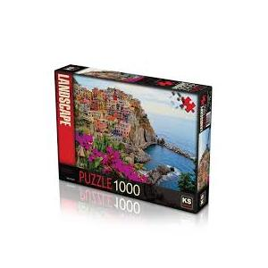 Ks Games Puzzle Village Of Manarola 1000 Parça
