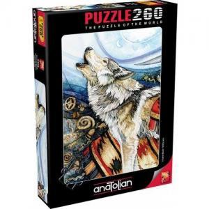 Anatolian Perre Puzzle 260 Parça Kurt ÇığlığıAnatolian Perre Puzzle 260 Parça Kurt Çığlığı