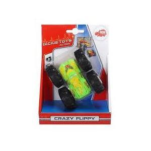 Dickie Toys Crazy Flippy Çift Taraflı Oyuncak Çılgın Araba