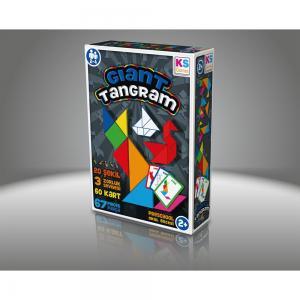 Gıant Tangram 20 Şekil 3 Zorluk Seviyesi 54 Kart