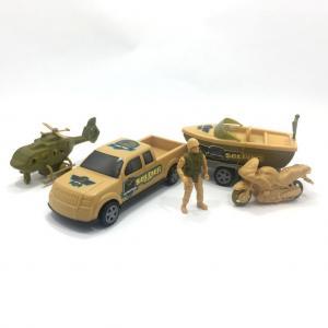 5 Parçadan Oluşan Plastik Askeri Oyuncak Seti MEGA SOLDİER