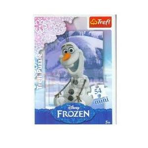 54 Parça Mini Puzzle Frozen Cep Puzzle