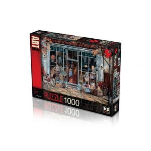 KS GAMES 1000 PARÇA PUZZLE THE VINTAGE SHOP 11506