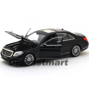 1:24 WELLY 2015 MERCEDES BENZ S CLASS SİYAH RENK