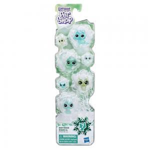 Littlest Pet Shop Buzul Miniş Koleksiyonu Arkadaş Minişler E5483-E5490 Yeşil
