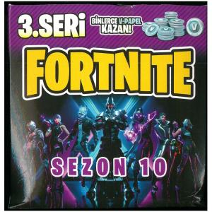 120 Adet Fortnite sezon 10 3.seri