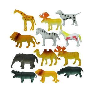 Vahşi Hayvanlar Poşetli Hayvan Oyun Seti