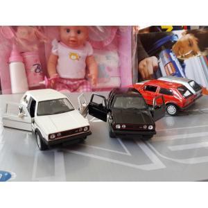 WELLY 1:38 ÖLÇEK VW GOLF I GTI METAL MODEL ARABA