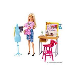 Barbie Bebek ve Aksesuarları Moda Tasarım Stüdyosu Oyun Seti FXP10