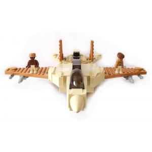 Işıklı, Sesli, Sensörlü ve Hareketli Lego Fighter Savaş Uçağı