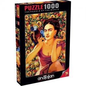 Anatolian 1000 Parça Frida Kahlo Puzzle - Serhat Filiz