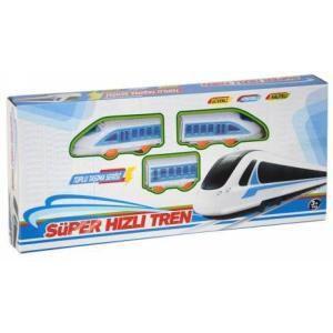 Canem Pilli Toplu Taşıma Serisi Süper Hızlı Tren Oyun Seti 3310
