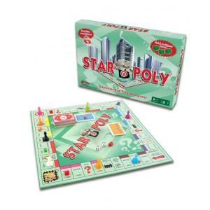 Star Poly Emlak Oyunu Eğlenceli Zeka Geliştirme Emlak Akıl Oyunu