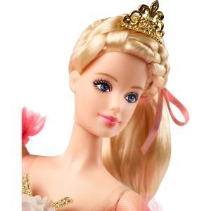 Barbie Örgü Saçlı Balet Bebek Tütü ve Bale Ayakkabıları DVP52