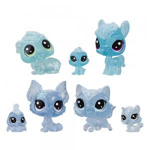 Littlest Pet Shop Buzul Miniş Koleksiyonu Arkadaş Minişler E5483-E5491 Mavi