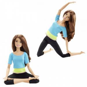 Barbie Sonsuz Hareket Kumral-Siyah Taytlı DJY08