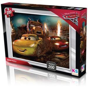 Cars Puzzle - Yapboz 200 Parça