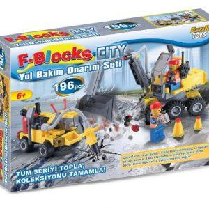 F-BLOCKS YOL BAKIM ONARIM SETİ 196 PARÇA – LEGO 36985