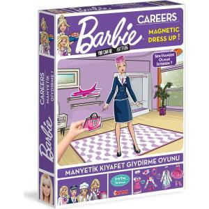1918 Barbie Carreers Kıyafet Giydirme 72 Parça Mor
