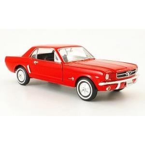 1:24 WELLY 1964 FORD MUSTANG COUPE KIRMIZI