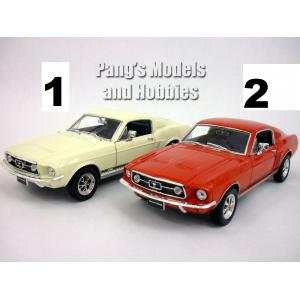 Welly 1:24 1967 Ford Mustang GT Model Araç