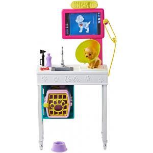 Barbie Kariyer Yerleri Oyun Setleri - Pet Vet Office