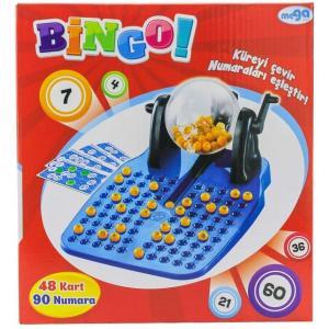 Mega Oyuncak Bıngo 48 Kart 90 Numara