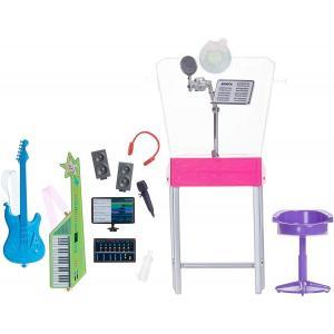 Barbie Kariyer Yerleri Oyun Setleri - Müzisyen Kayıt Stüdyosu
