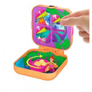 Polly Pocket Sürprizlerle Dolu Micro Oyun Setleri GDK76-GKV10 Turuncu