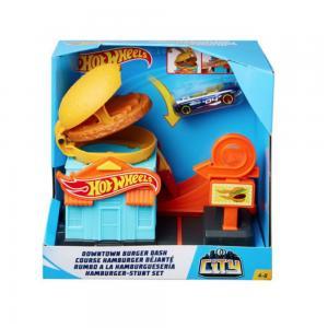 Hot Wheels Şehir Otoparkı Oyun Setleri FRH28-GPD09