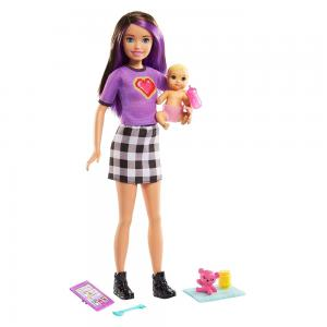 Barbie Bebek Bakıcısı Skipper Bebek Serisi GRP10-GRP11