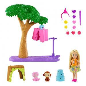 Barbie ve Chelsea Kayıp Doğum Günü Parti Eğlencesi Oyun Set GTM84