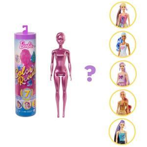 Barbie Color Reveal Renk Değiştiren Sürpriz Barbie Işıltılı Bebekler Serisi - Seri 1 GWC55