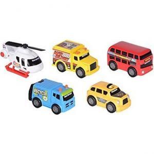 Road Rippers Mini Şehir Araçları 5'li Set 41402