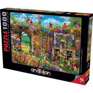 Anatolian 1000 Parça Kalabalık Bahçe 1056