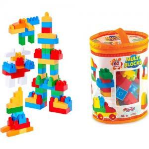 DEDE 01253 Dede Multi Blocks 62 Parça LEGO