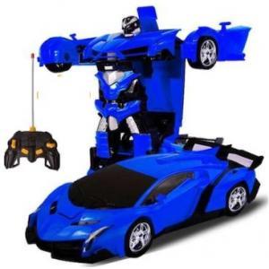 Transformers Gibi Dönüşebilen Uzaktan Kumandalı Şarjlı Robot Araba